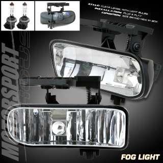 99 02 GMC SIERRA PICKUP 1500 2500 FOG LIGHTS LAMPS L+R