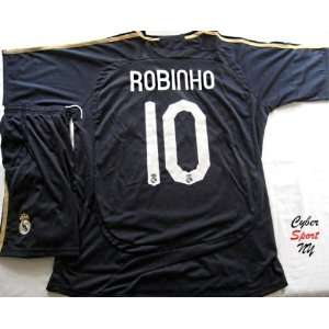 REAL Madrid Spain ROBINHO Soccer Jersey Away Adult Size