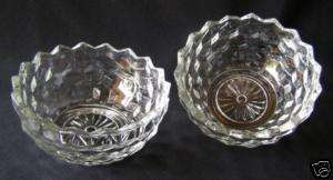 COLONY / INDIANA GLASS 1950 WHITEHALL SERVING BOWLS