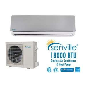 Senville 18000 BTU Ductless Air Conditioner and Heat Pump   Energy